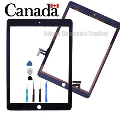 Replacement For Apple iPad Air  iPad5th Touch Screen Digitizer Front Glass black