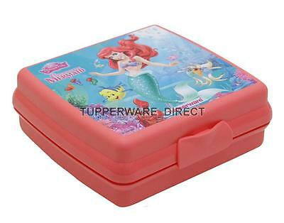 Tupperware Sandwich Keeper - Disney Mermaid  - Kids Lunch Sandwich Keeper