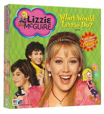 """DISNEY LIZZIE McGUIRE HILARY DUFF BOARD GAME BRAND NEW! """"WHAT WOULD LIZZIE DO?"""""""