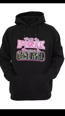 Pretty In Pink Dangerous In Camo Sweatshirt Hoodie