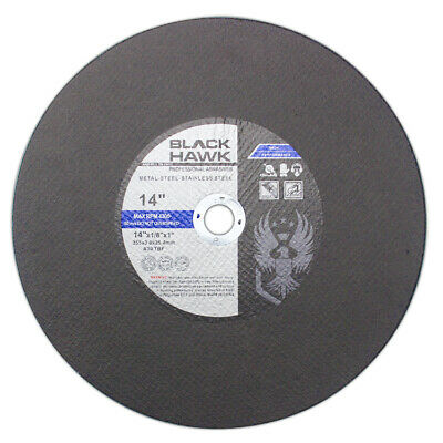 """20 Pack 14""""x1/8""""x1"""" Chop Saw Blade - Metal & Stainless Steel Cutting Disc"""