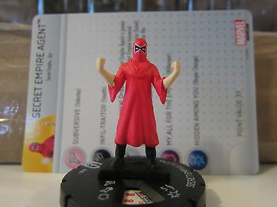 Marvel Heroclix Deadpool set #004, Secret Empire Agent!