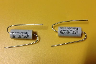Pair of 0.1uF POLYESTER FILM CAPACITOR cap for Fender Gibson Electric Guitar