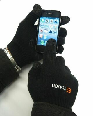 Unisex Etouch Touchscreen Gloves - iphone, ipad, smartphone, Samsung Galaxy, HTC