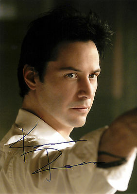 Keanu Reeves (Constantine) 03 Signed Photo Print 03