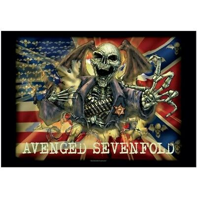"AVENGED SEVENFOLD ""SCREAMING DEATH BAT"" Fabric Poster 30""X40"" Poster Flag NEW"