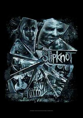 "SLIPKNOT ""BROKEN GLASS"" Fabric Poster Oversized 30""X40"" Poster Flag NEW"