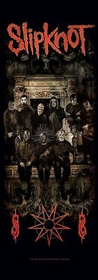 "SLIPKNOT ""CREST"" Oversized Fabric Poster 20.5""X58"" Door Poster NEW IN PACKAGE"