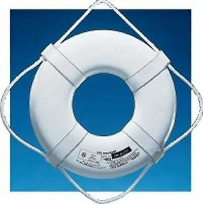 """Jim-Buoy Life Ring Buoy with Beckets Diameter 24"""" JB-W-24 MD"""
