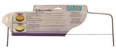 """PME 18 """" inch Cake Level Leveller Decorating Divider Cutter Cutting Tool"""