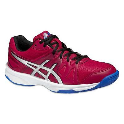 ASICS Indoor Gel-Upcourt GS Kids Fiery Red/Silver/Electric Blue ***NEU***