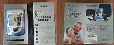 Microlife Deluxe Automatic Blood Pressure Monitor BP3NQ1-4W New sealed