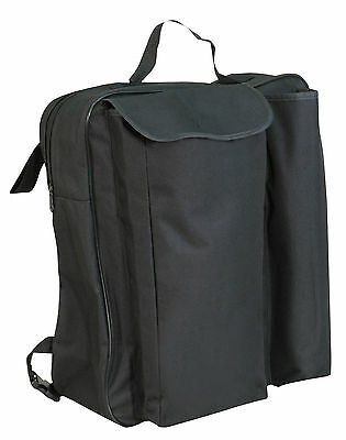 NEW Deluxe lined wheelchair crutch & walking stick holder shopping bag
