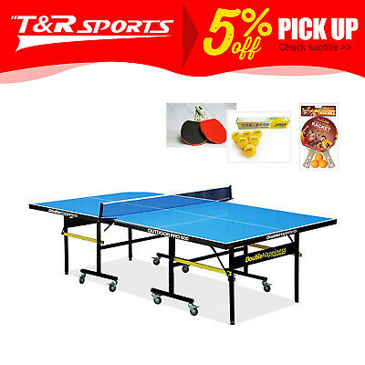 19Mm Top 40Mm Metal Leg Table Tennis/ping Pong Table Free Accessories*