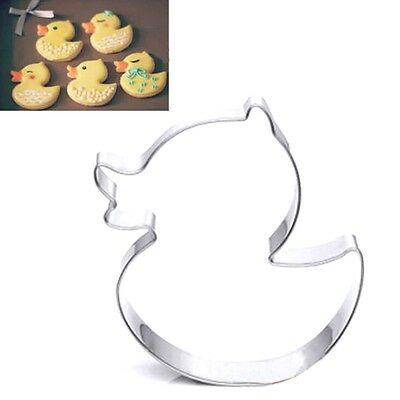 FD2792 Stainless Steel Cookie Cutter Cake Baking Mould Biscuit Gift ~DIY Duck~