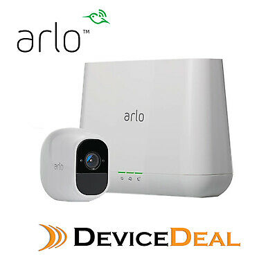 NETGEAR VMS4230 Arlo Pro Wire-Free 2HD Camera Security System + Black Skin Cover