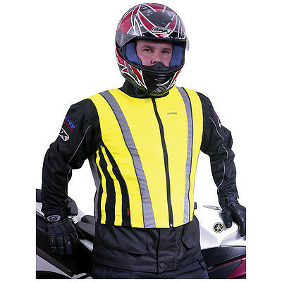 Oxford High visibility vest, Motorcycle Scooter Quad ATV Motorsport Cross Safety