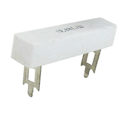 2x 19.8W 1.1 Ohm 5% Wirewound Ceramic Cement Power Resistor
