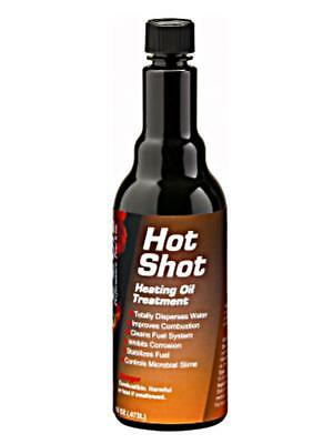 E-ZOIL H15-16 16 oz. bottle of OF H.O.T. SHOT (Hot Shot) heating oil treatment