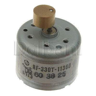 RF-330T-11360 Vibration Electric Motor D/V 6.0