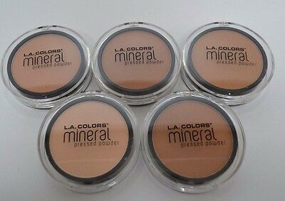 L.A. Colors Mineral Pressed Powder Cosmetic Makeup Fragrance free Long Lasting