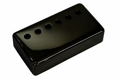 "Humbucker Pickup cover ""Jet Black Nickel"" plated nickel silver 53mm pole spacing"