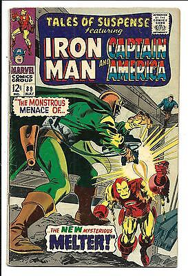 Tales Of Suspense # 89 (Iron Man & Captain America, May 1967), Vg/fn