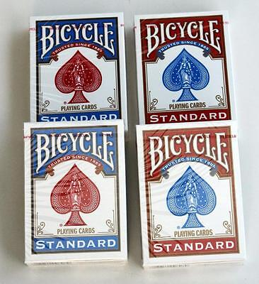 4 Decks Bicycle US Standard Playing Cards Trusted Poker Card Made in USA New