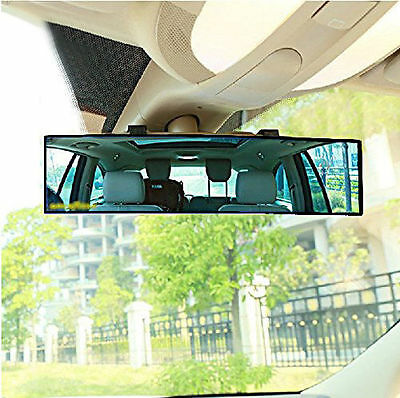 300mm Wide Convex Curve Interior Clip On Panoramic Rear View Mirror