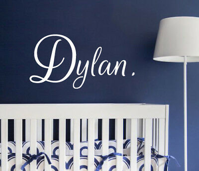 Custom Name Star Wall Sticker Bedroom Hipster Cool Kids MS282VC