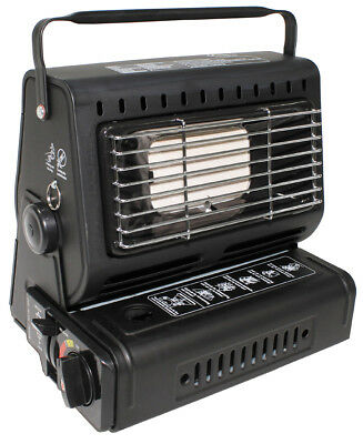 Gas Heater with Piezo Ignition Camping Outdoor Gas oven Heating Gas oven Heater