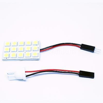 1x PANEL T10 W5W 40x20MM PURE WHITE CANBUS INTERIOR LIGHT COB 18 12V LAMP CAR