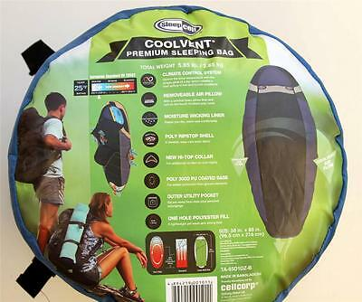Sleeping Bag Extra Large New Camping Liner & Hooded Sleepcell Coolvent  Premium