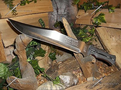 M-tech/Raptor/Bowie/Knife/Combat Machete/Sword/440C/6MM/Full tang/Survival/18""
