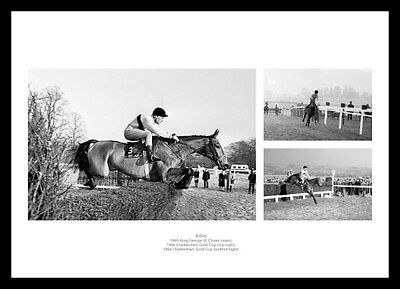 Arkle Montage Horse Racing Photo Memorabilia (ARKMU01)