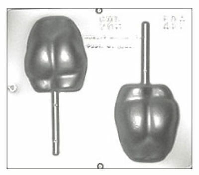 Naked Butt Lollipop Chocolate Candy Mold 775 NEW