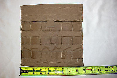 NEW US Military Issue EAGLE INDUSTRIES COYOTE SIDE PLATE Pouch  MOLLE Lot of 2