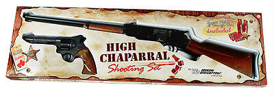 Edison Giocattoli High Chaparral Shooting Set - Speedy Kid Gewehr und West Colt