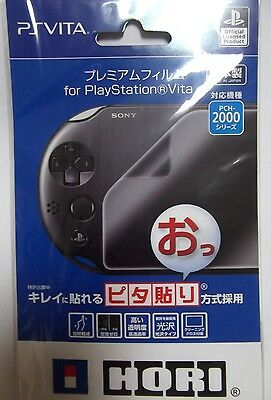 PlayStation Vita PCH 2000 Screen Protector Film Official Licensed HORI