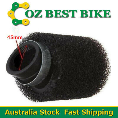 Universal Bent 44mm-46mm Air Filter Dual Stage ATV Quad Dirt Pit bike Buggy