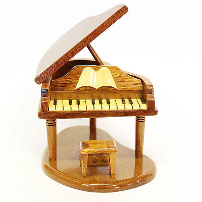 Wooden Piano Model (Handcrafted) - also in engraved version