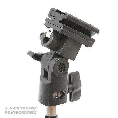 f64 Flashgun and Umbrella Studio Bracket to mount Flash and Brolly. Fits Stands