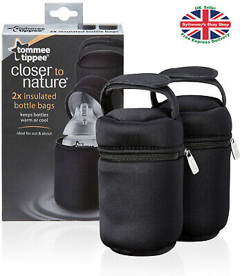 Tommee Tippee Insulated Bottle Carriers (2 Pack)  *BRAND NEW*