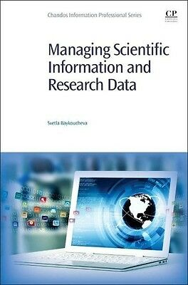 Svetla Baykoucheva , Managing Scientific Information and Res ... 9780081001950