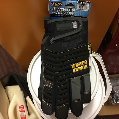 Mechanix Winter Armour Cold Weather Gloves - MEDIUM - Free 1st Class Delivery