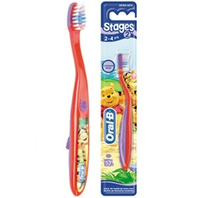 Oral-B Stages 2 spazzolino 2 - 4 anni winnie the pooh