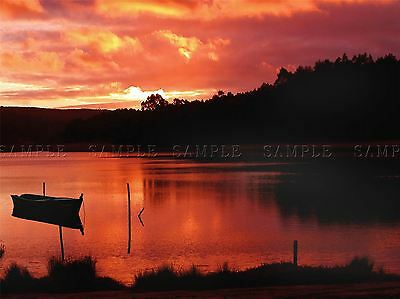 STONE SEA TIMELAPSE SUNSET PHOTO ART PRINT POSTER PICTURE BMP1535A