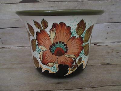 G5 Royal Gouda Anvers Large Floral Jardiniere Pot