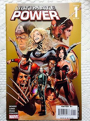 Ultimate Power Set/lot #1-9 NM-M Greg Land Squadron Supreme Secret War Avengers