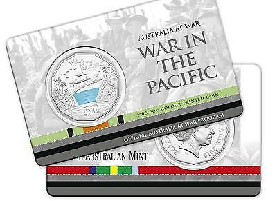 2015 Australia at War Series - War in the Pacific - 50c Coin